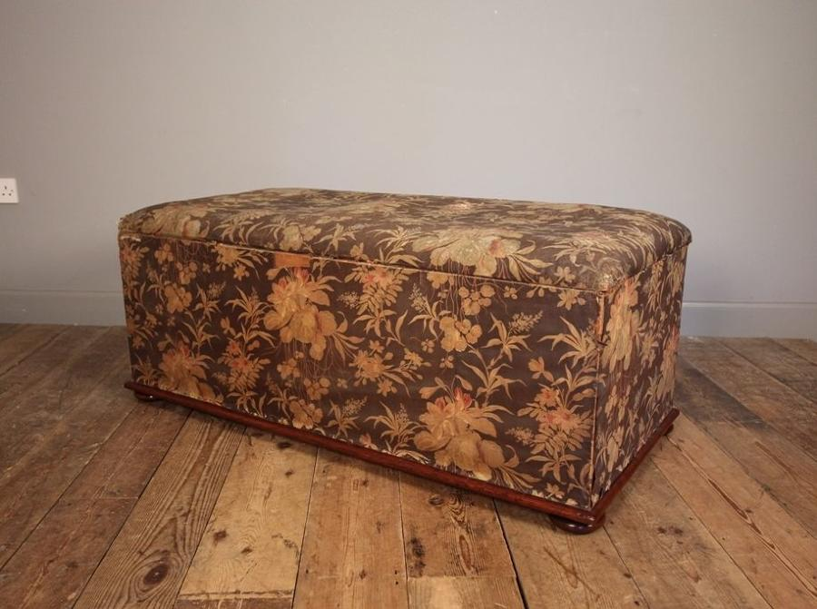 19th C Highly Original Ottoman