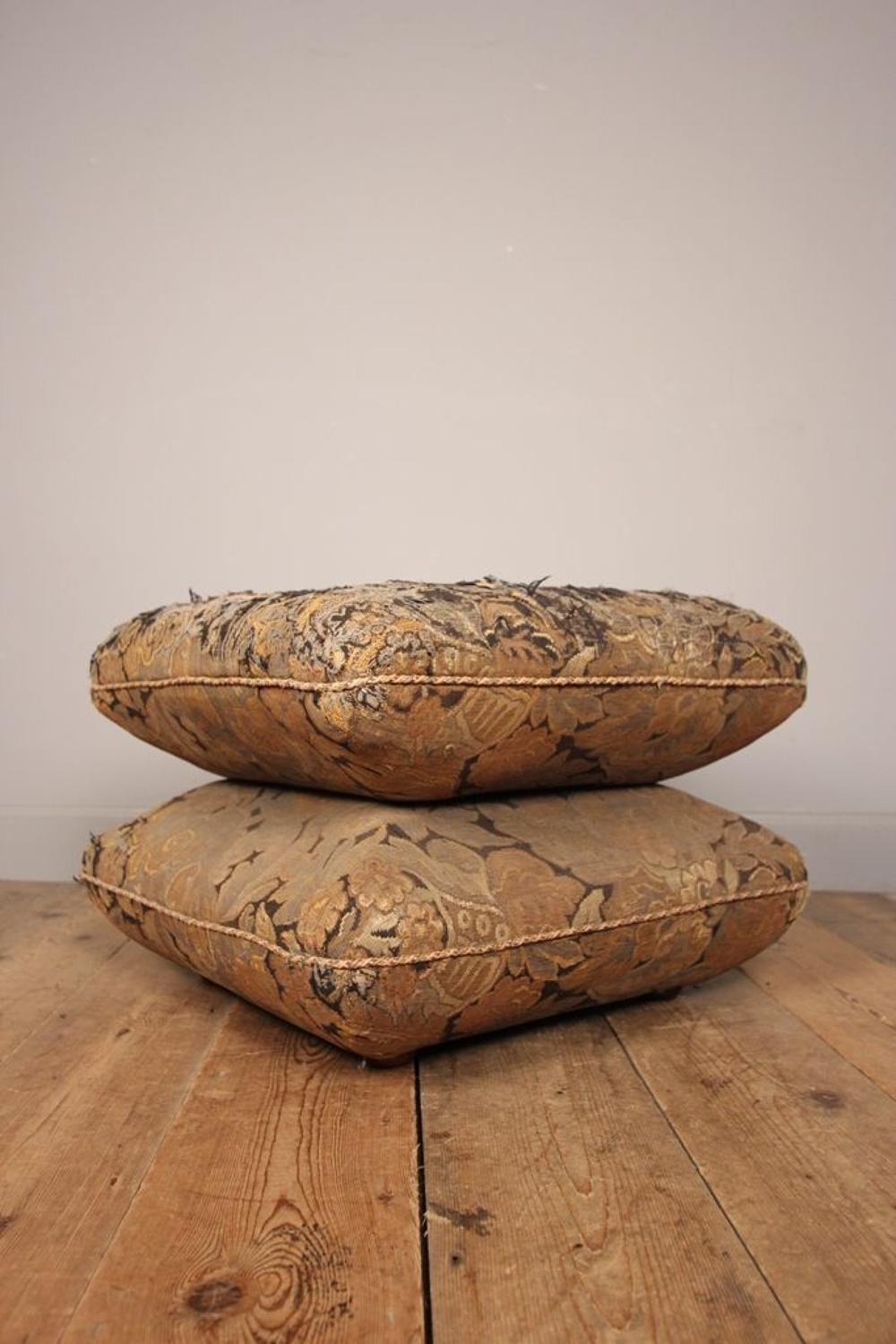 19th C Country House Cushion Stool
