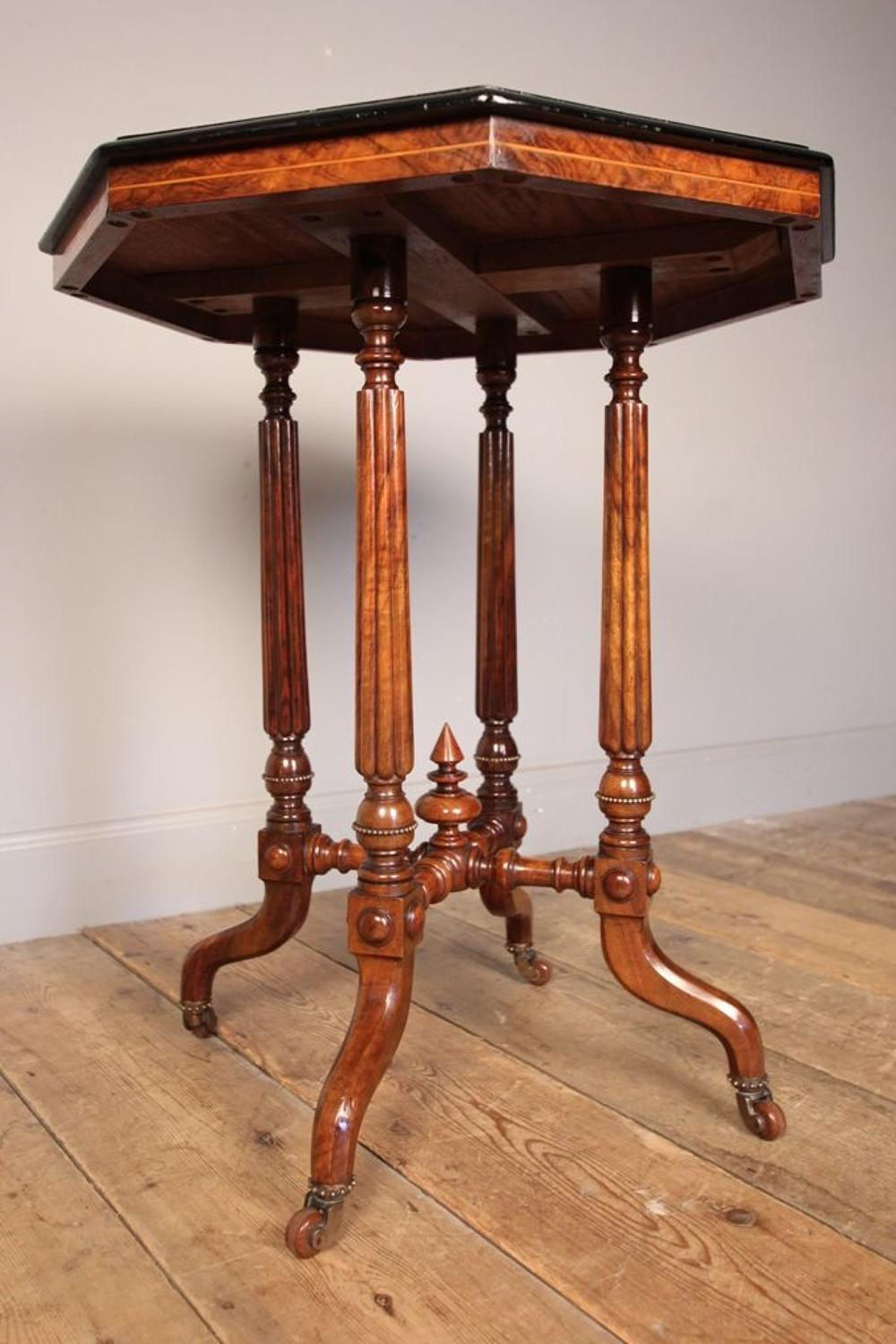 Beautiful Burr Walnut Occasional Table