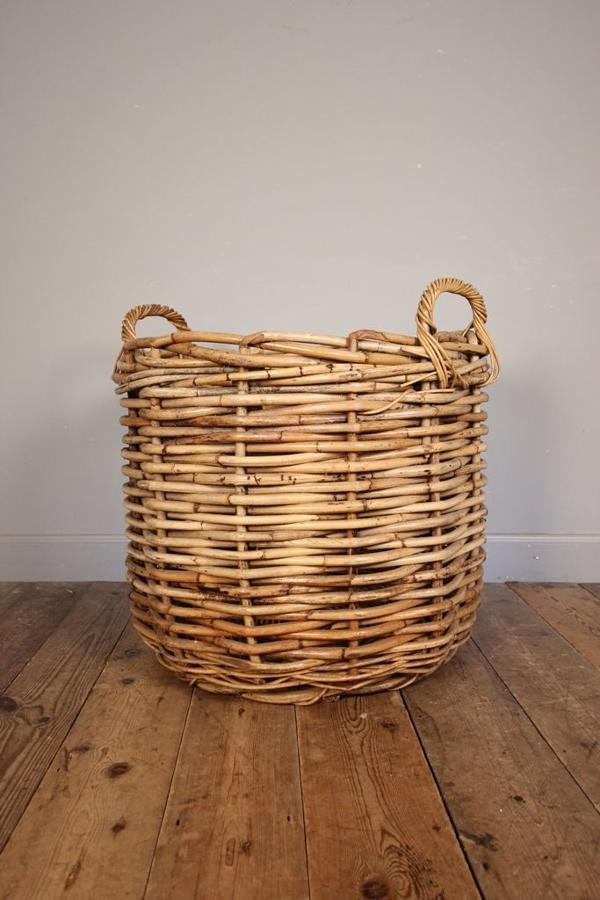 Country House Log Basket