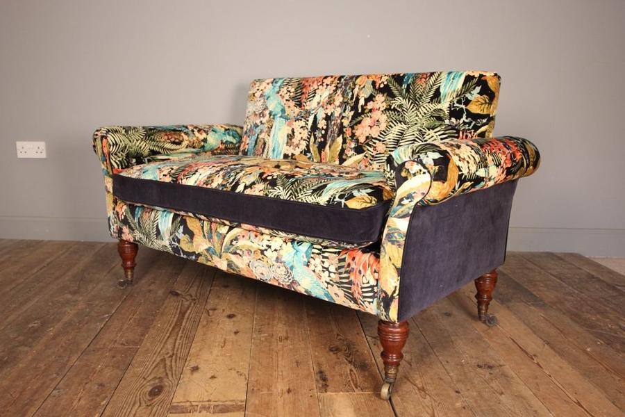 19th C. Small Howard & Sons Sofa