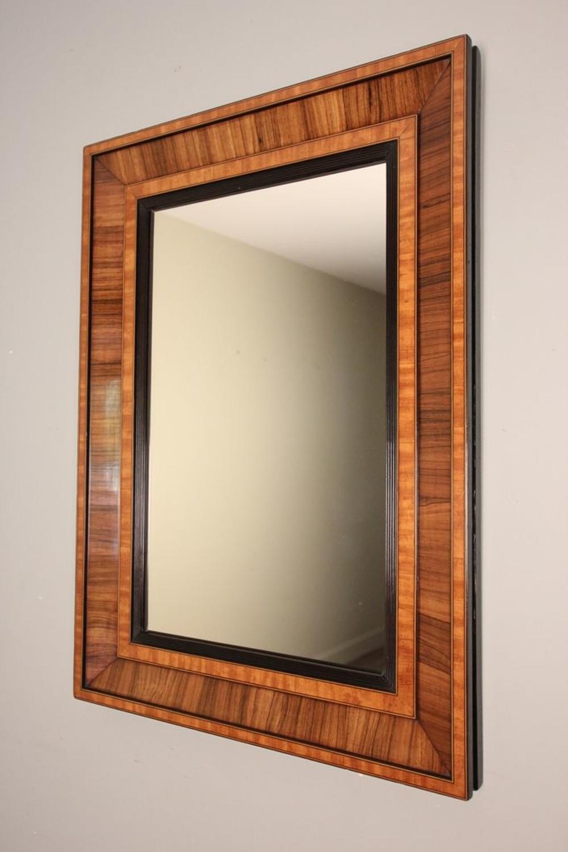 Edwardian Rosewood Cushion Mirror