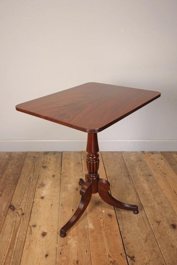 Gillows Mahogany Tilt Top Occasional Table