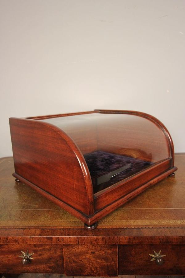 Super Quality 18th C Table Top Display Case
