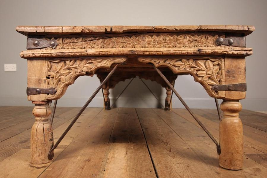Large 19th C. Indian Coffee Table