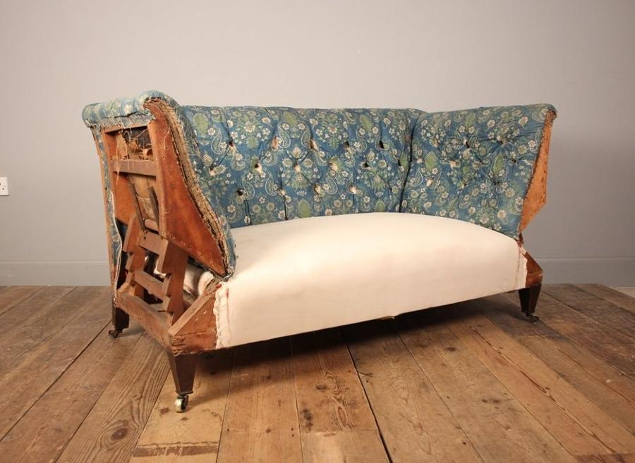 Small & Perfectly Formed 19th C Sofa