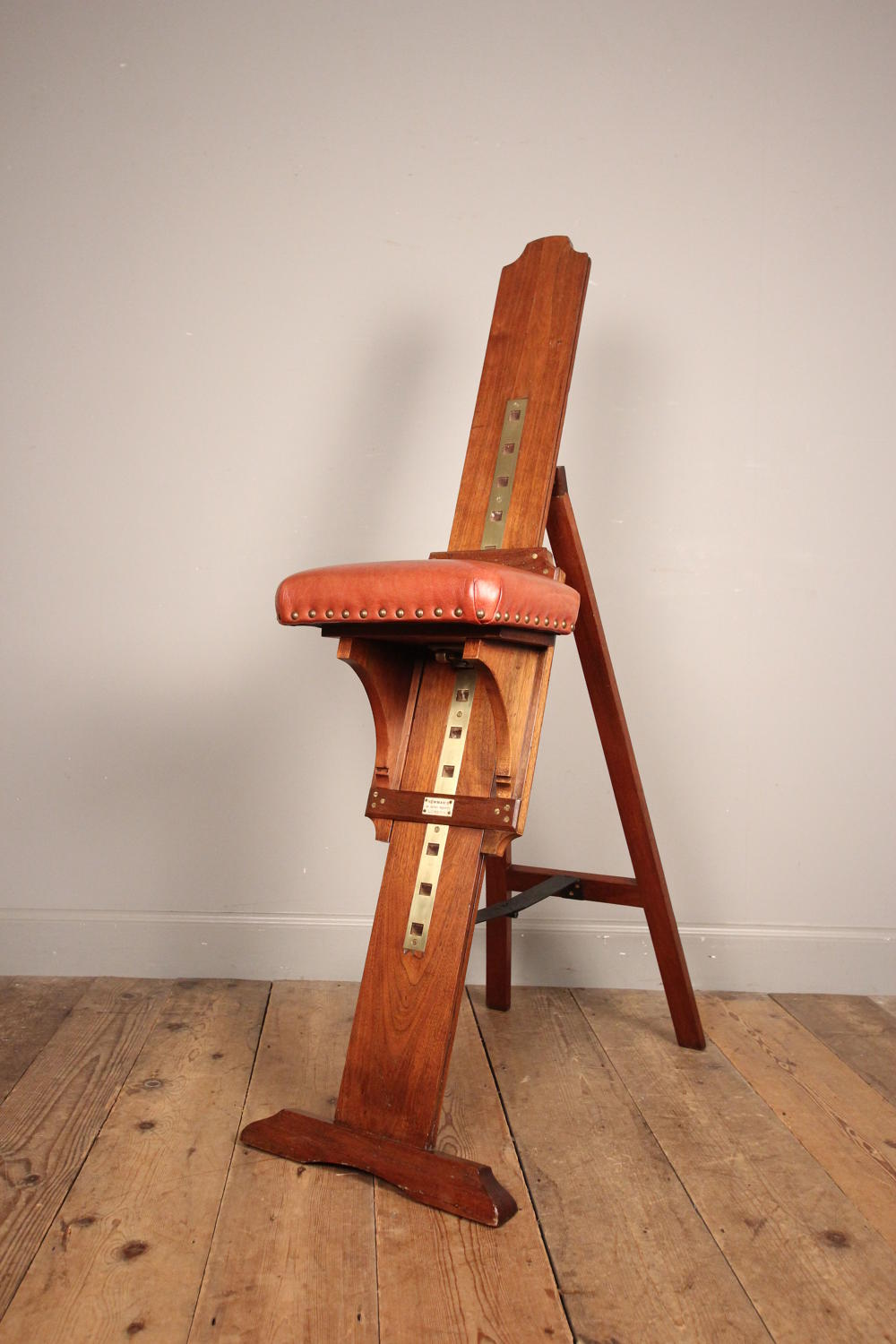 Edwardian Portable Artists Seat by Newman of London.