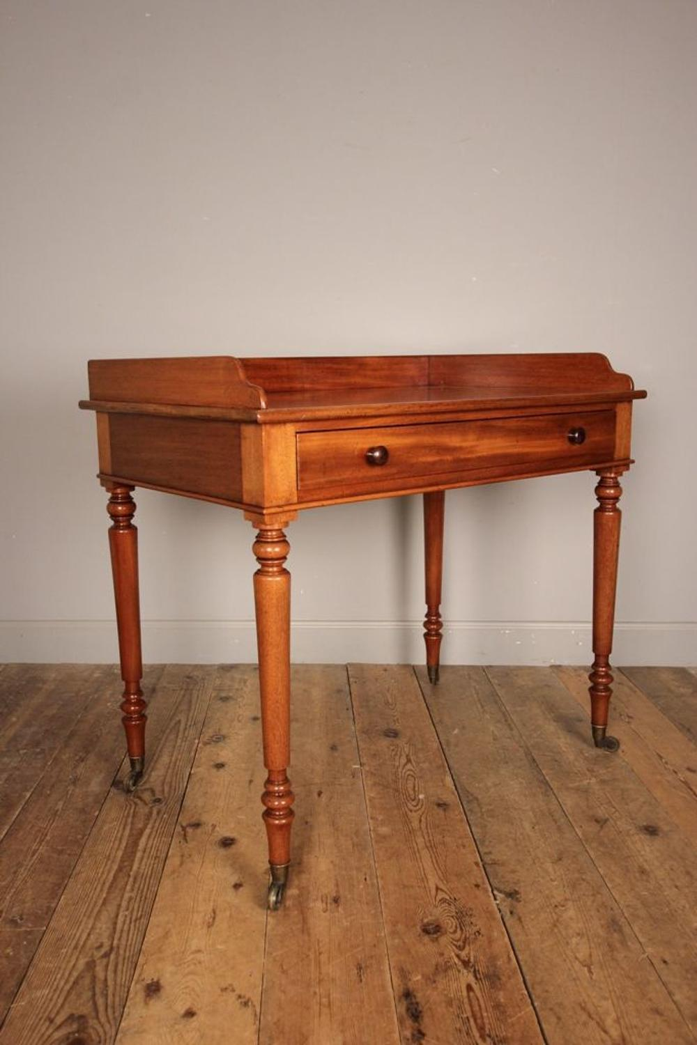 19th C Gillows Mahogany Side Table