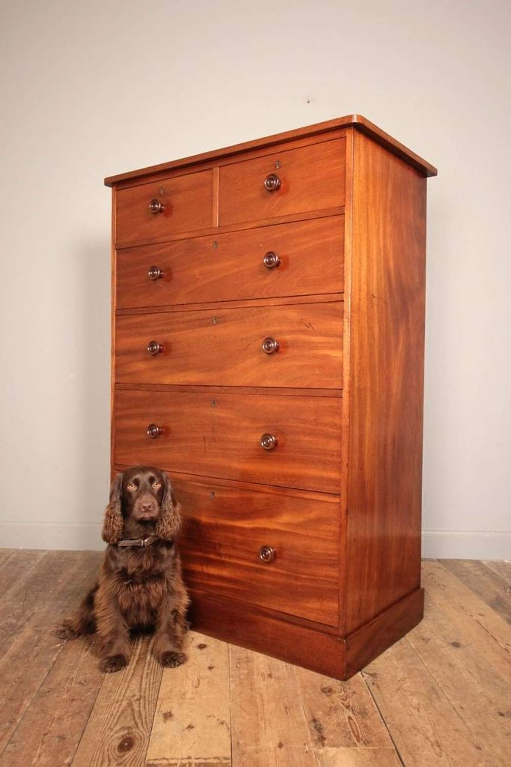Country House Mahogany Chest of Drawers