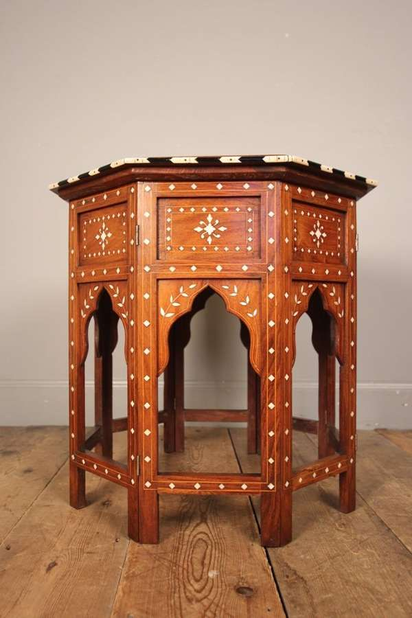 19th C. Anglo Indian Hoshiarpur Table