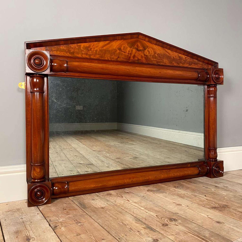 William IV Mahogany Mirror