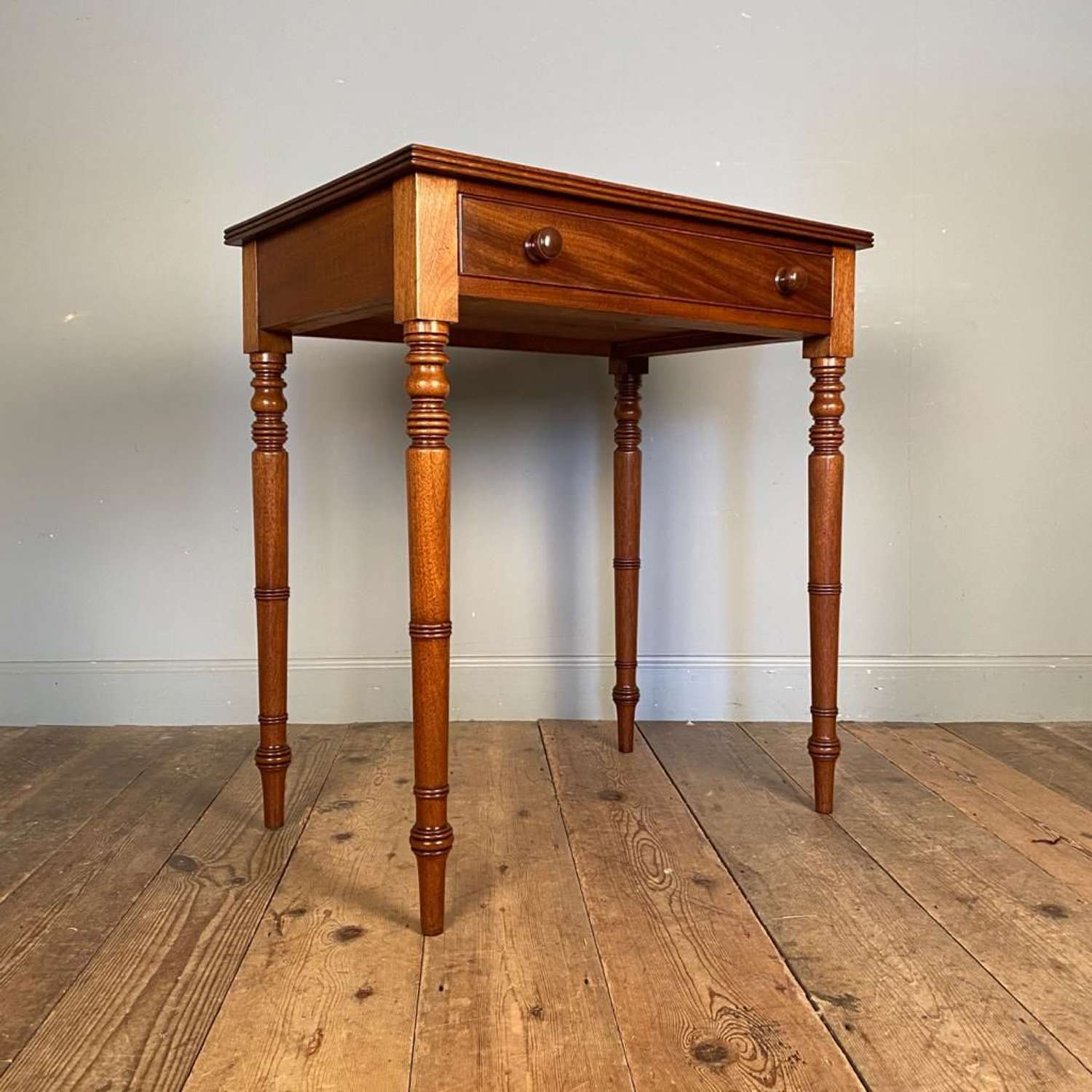 Immaculate George IV Mahogany Side Table