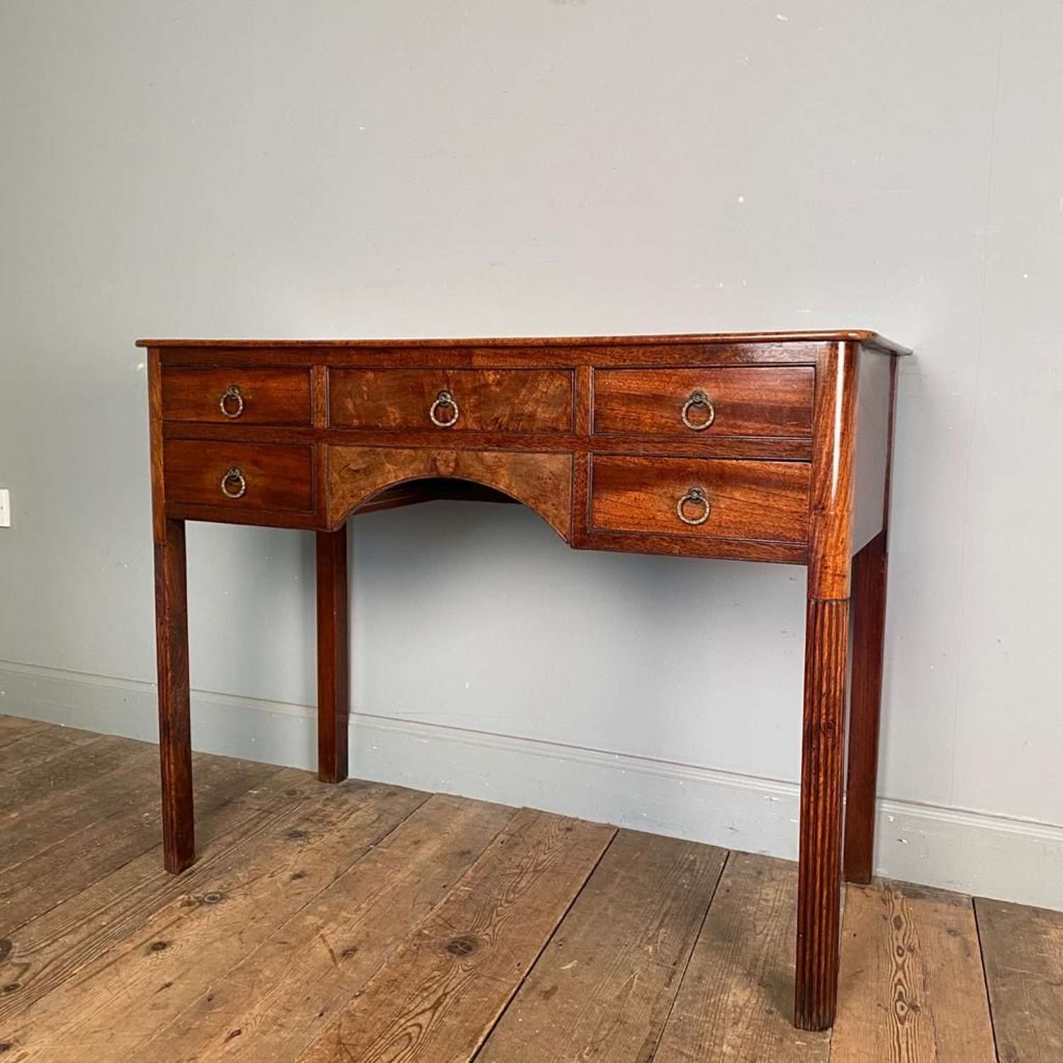 Small 19th C Walnut Sideboard