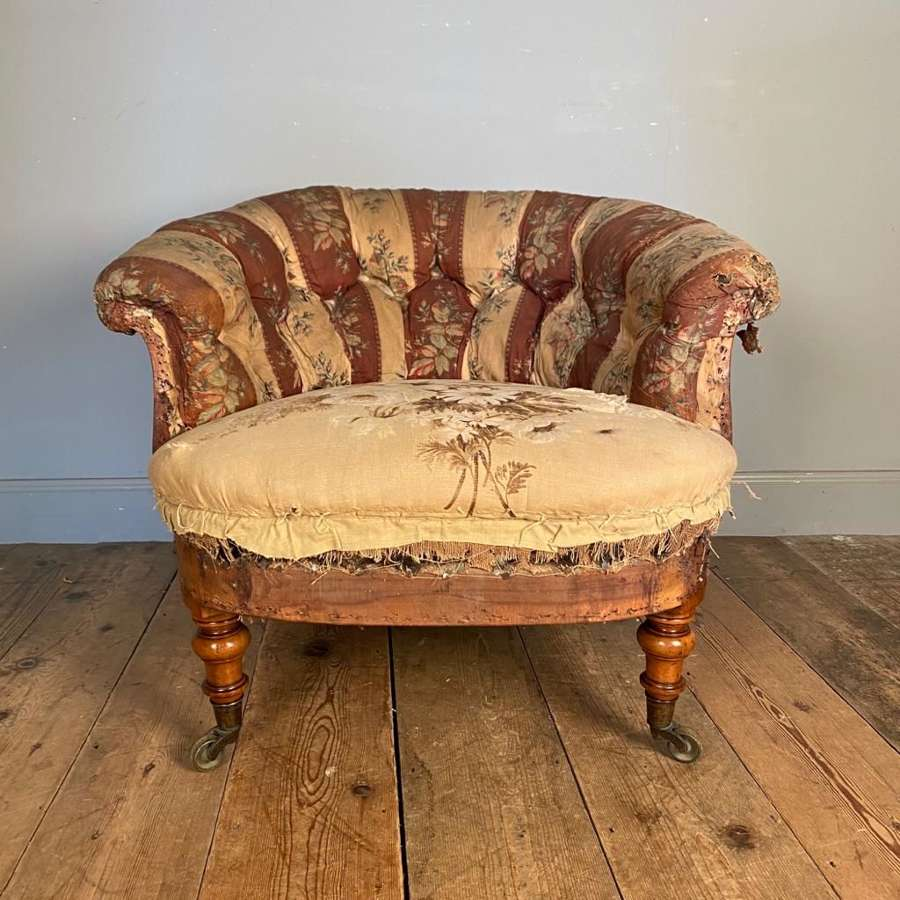 Early Howard & Sons Bedroom Chair