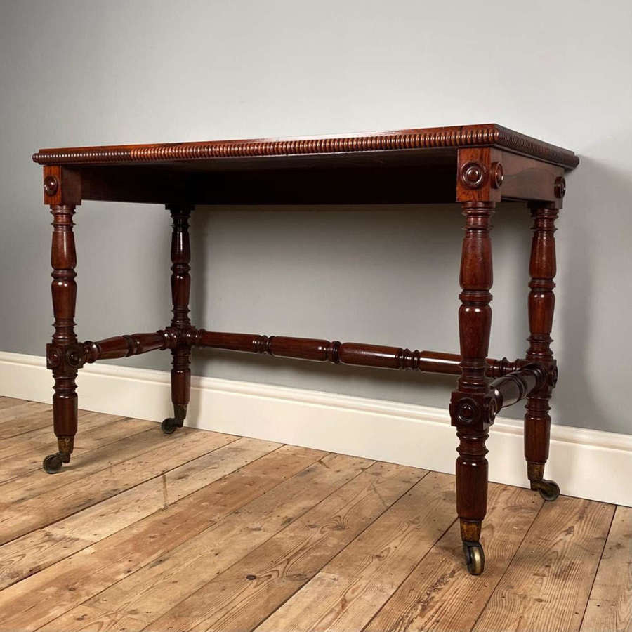 George IV Rosewood Side Table