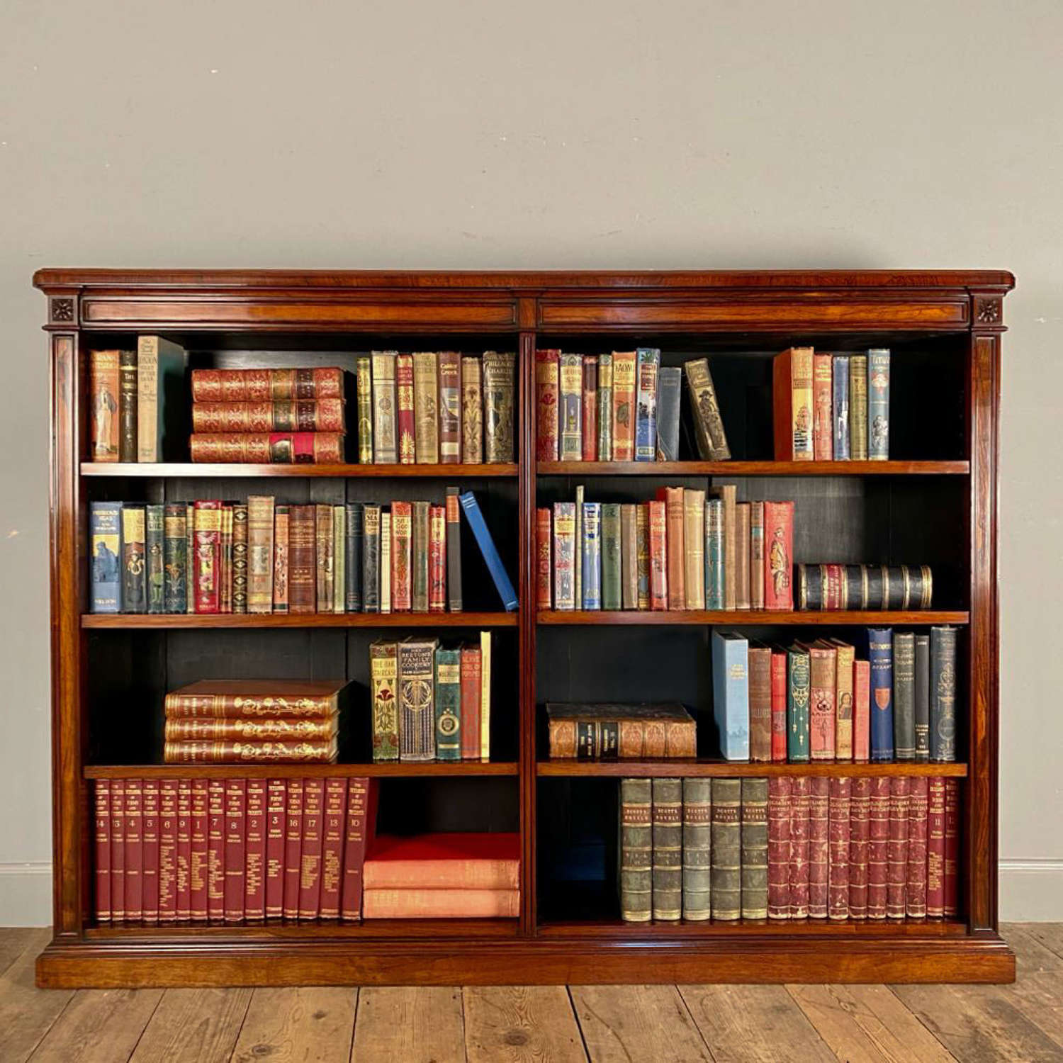 Fine Gillows Rosewood Bookcase