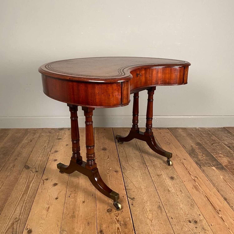 George IV Kidney Shaped Desk