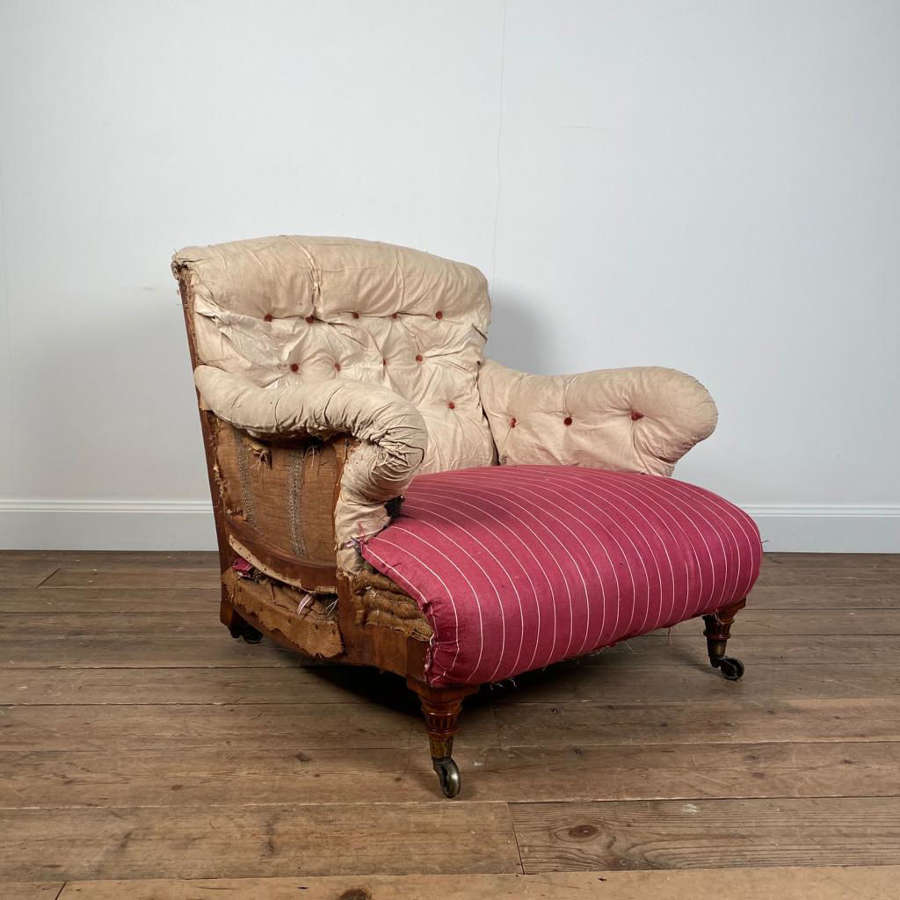 Early Howard & Sons Bridgewater Armchair