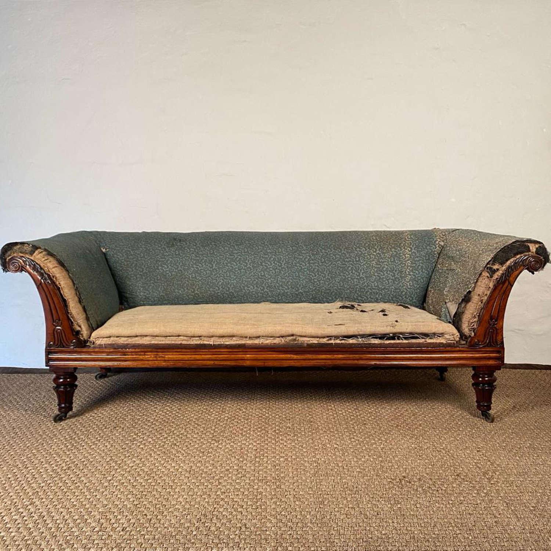 Stunning George IV Rosewood Sofa