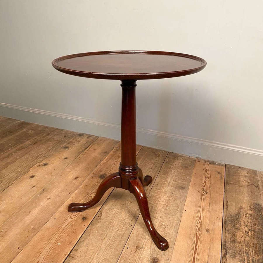 George II Gun Barrel Tilt Top Table