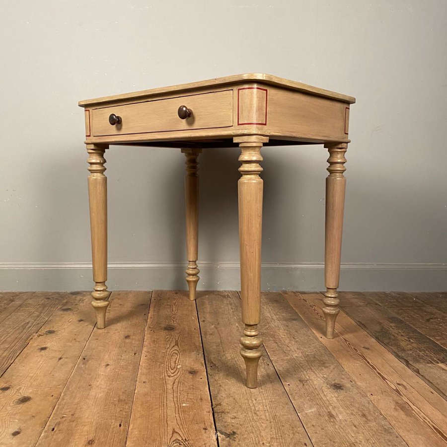 Rare Painted Pine Gillows Chamber Table