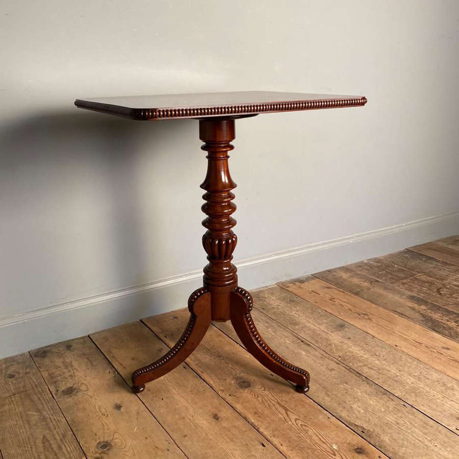Gillows George IV Mahogany Side Table