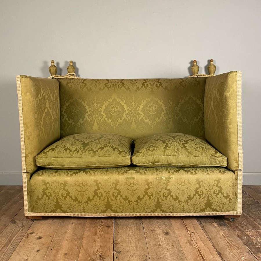 Small Edwardian Knole Sofa