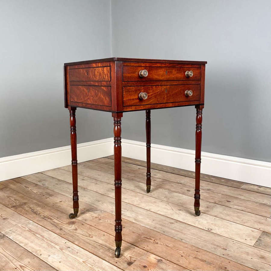 Quirky Regency Mahogany Occasional Table