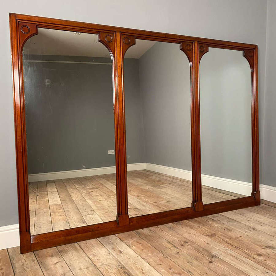 19th C Gillows Mirror from The Midland Grand Hotel St. Pancras London