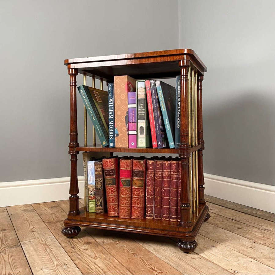 George IV Gillows Rosewood Etagere