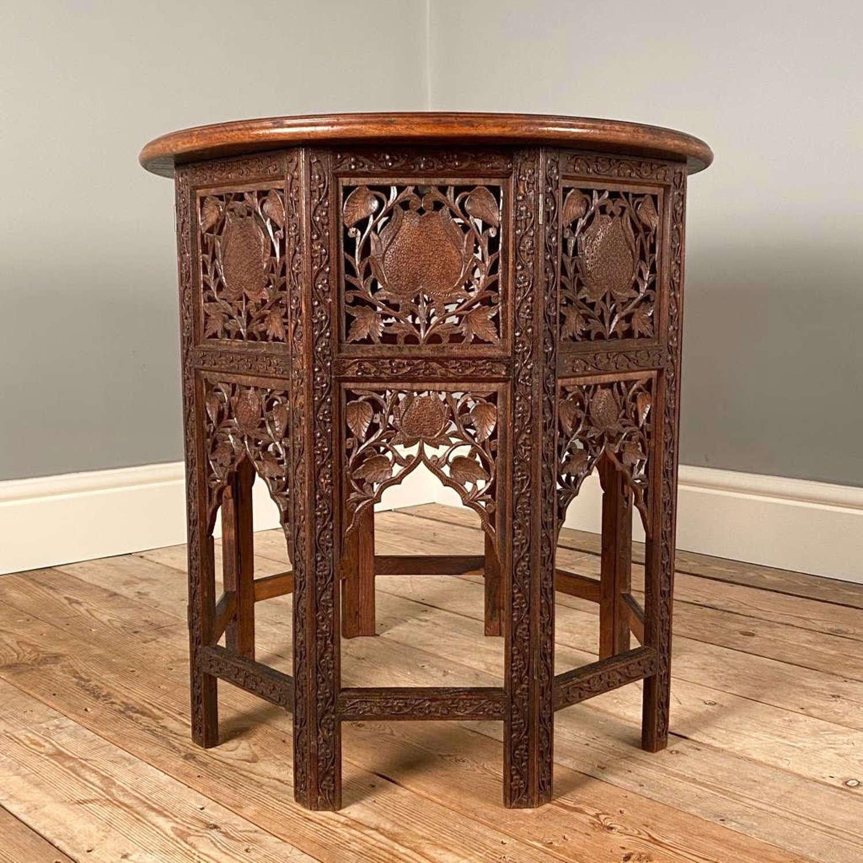 Liberty Style Padouk Moorish Table