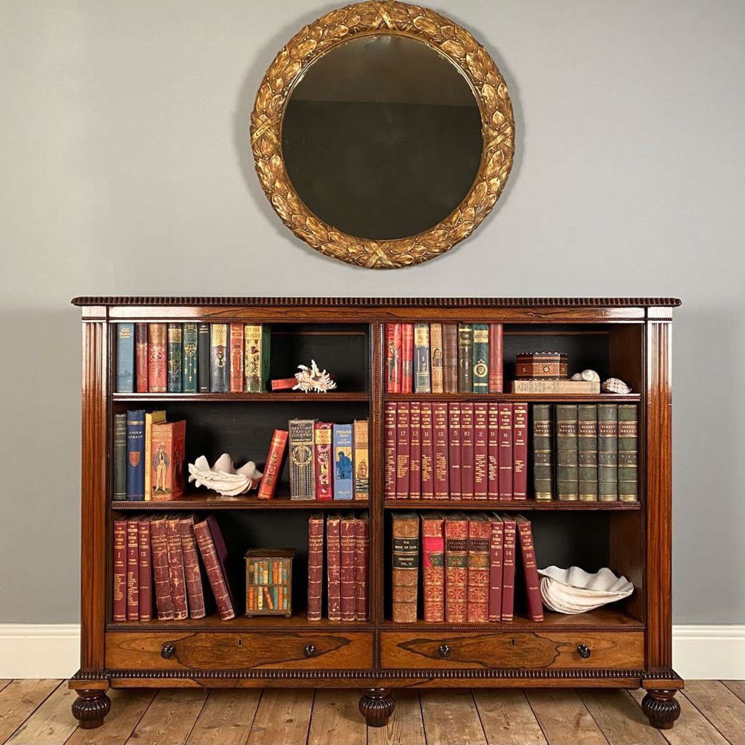 George IV Rosewood Bookcase