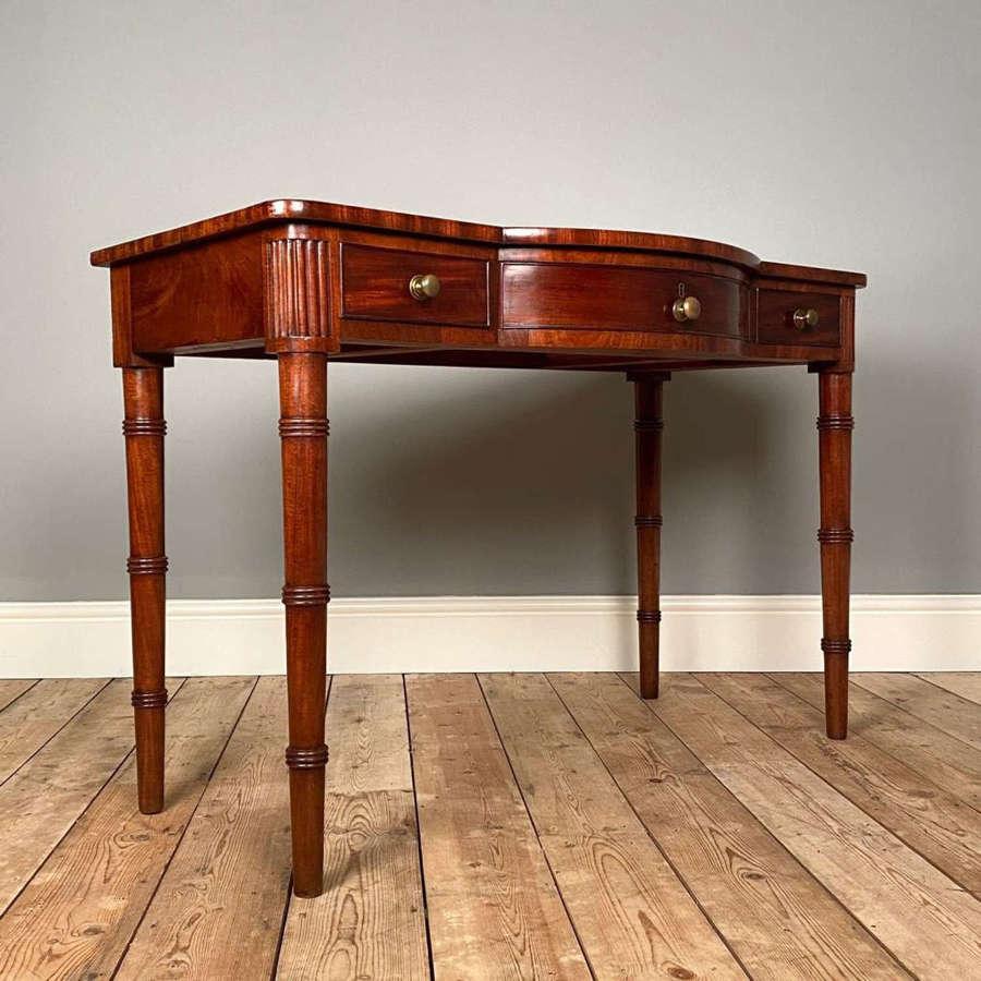 19th C Scottish Mahogany Side Table