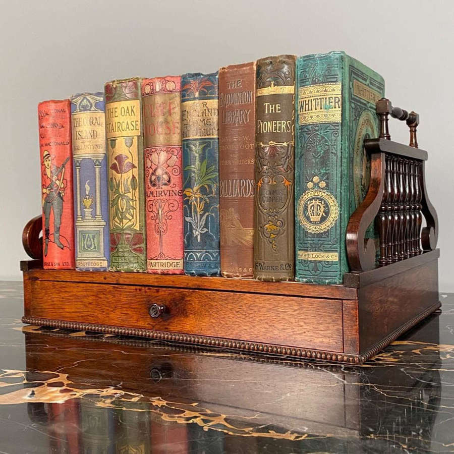 Regency Rosewood Book Carrier attributed to Gillows