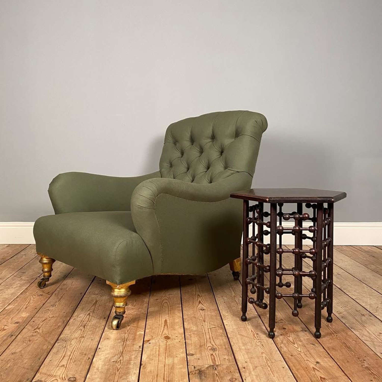 19th C Howard Bridgewater Style Chair