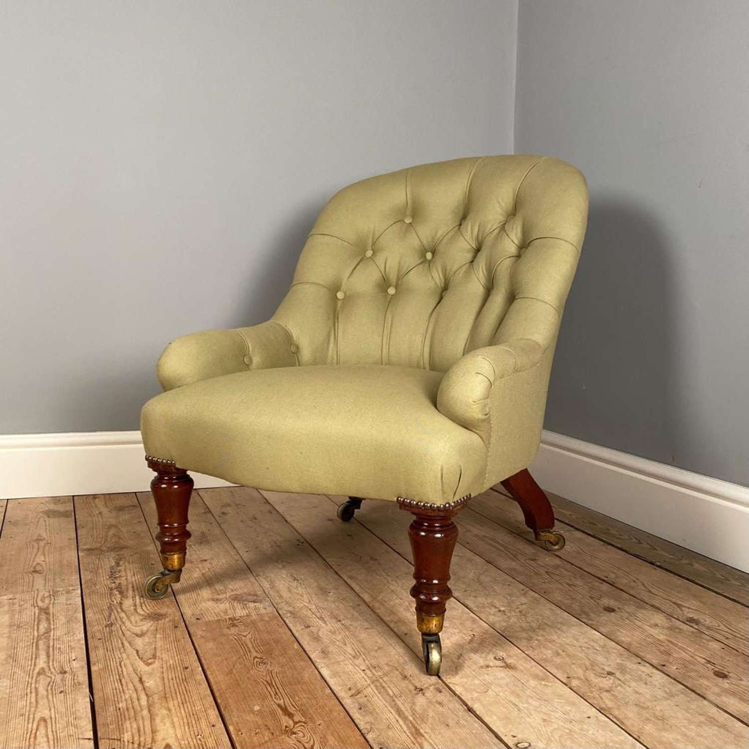 Holland & Sons Upholstered Armchair