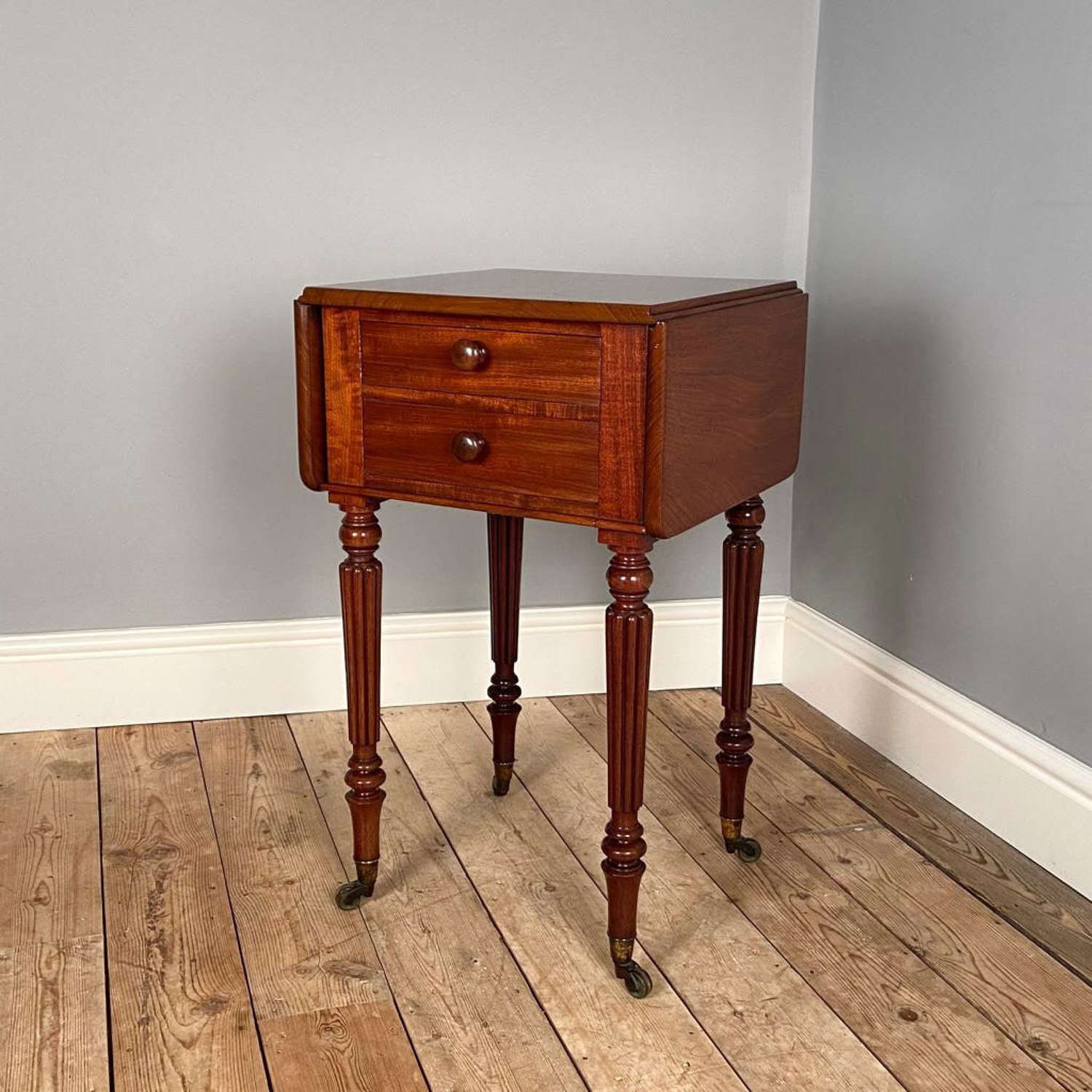 Gillows George IV Mahogany Bedside Cabinet