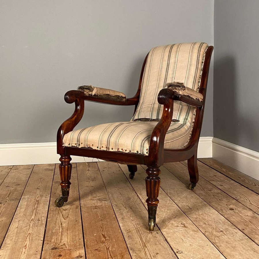 Gillows Goncalo Alves Bedroom Chair