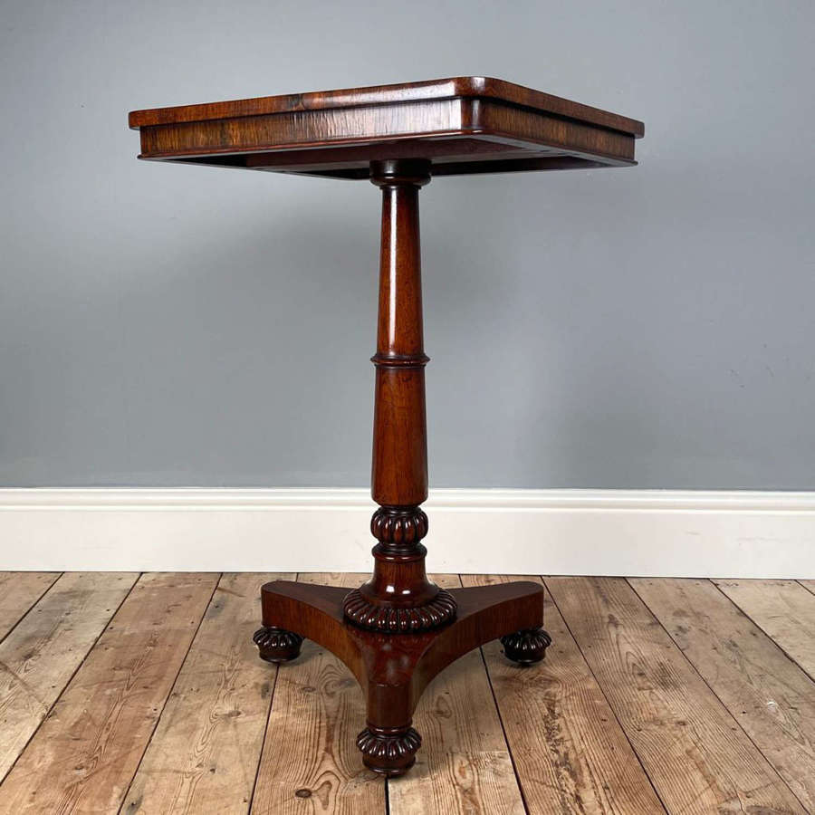 George IV Rosewood Occasional Table
